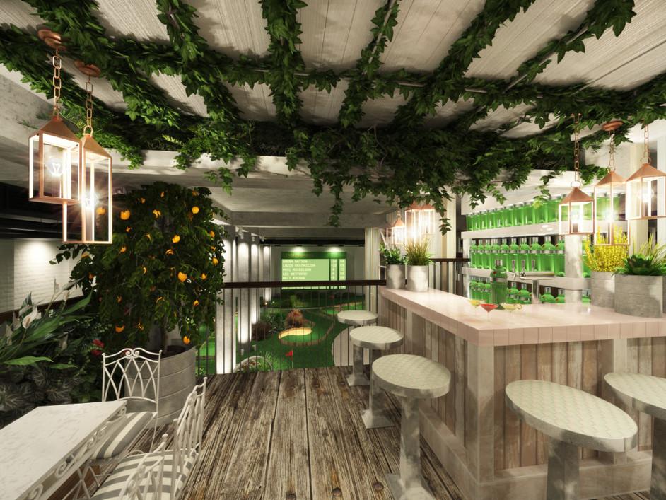 Swingers - Clubhouse gin terrace