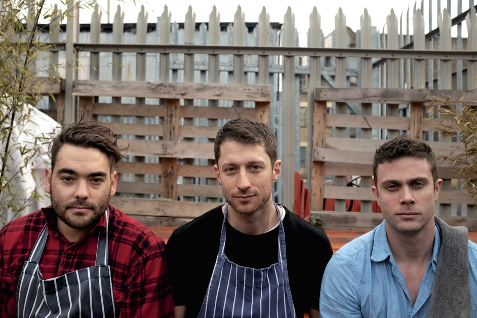 Som Saa - Chefs Mark Dobbie and Andy Oliver, and Front of House Manager Tom George