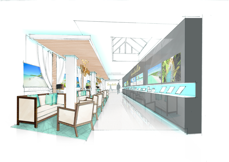 Sandals Luxury Travel Store - Research Zone