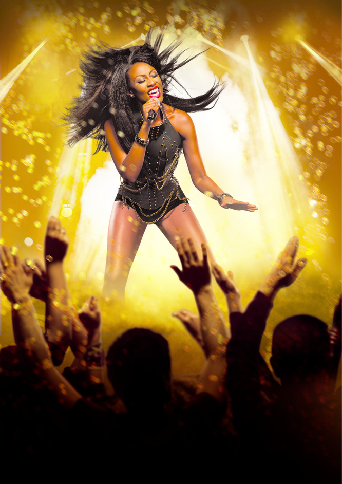 The Bodyguard - The Bodyguard - Beverley Knight, photo by Uli Weber