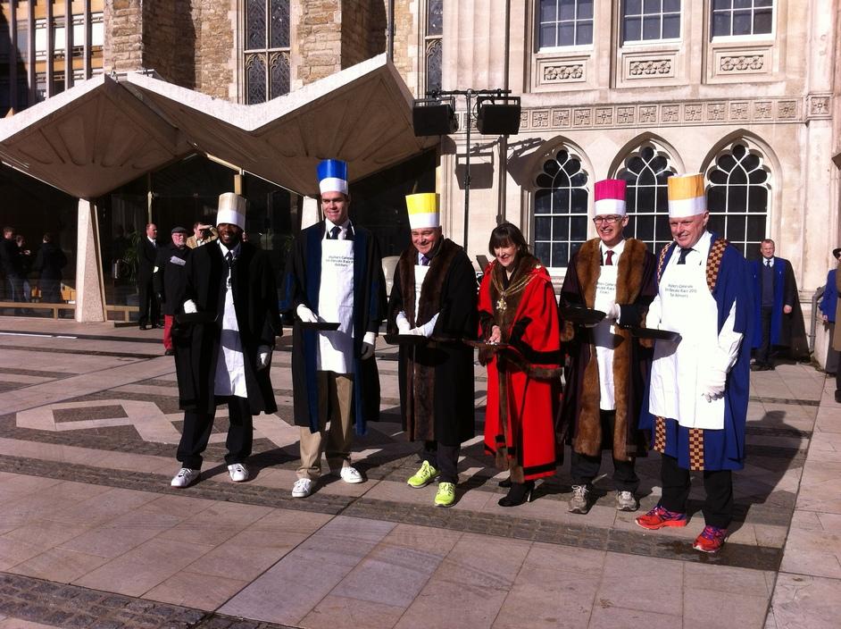 Livery Companies Pancake Day Race