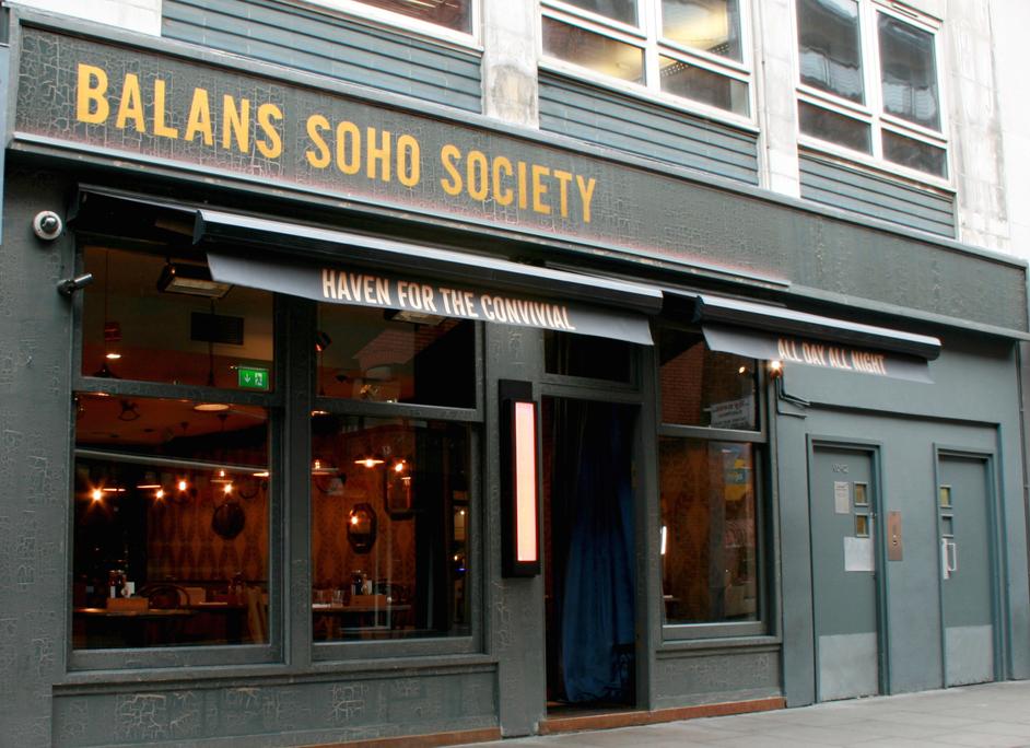 Balans Soho Society