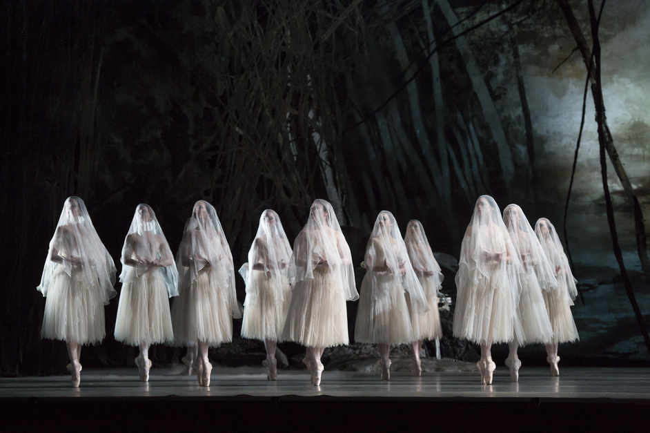 The Royal Ballet: Giselle - Giselle. Artists of The Royal Ballet as The Wilis (c) ROH, Bill Cooper