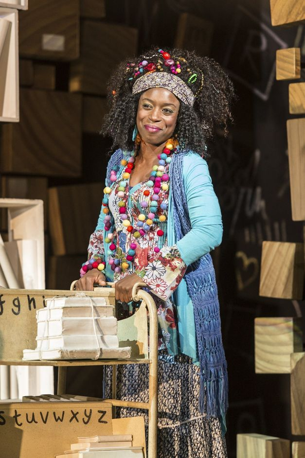 Matilda The Musical - Sharlene Whyte (Mrs Phelps). Photo Manuel Harlan