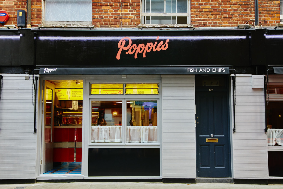 Poppies Fish and Chips Soho - Photo Georgia Glynn Smith