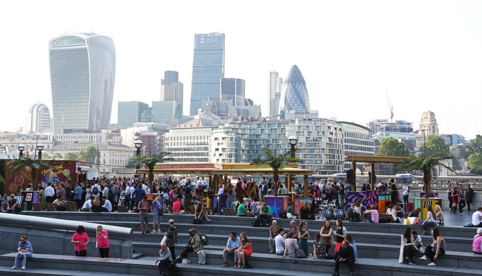 London Bridge City: Summer by the River