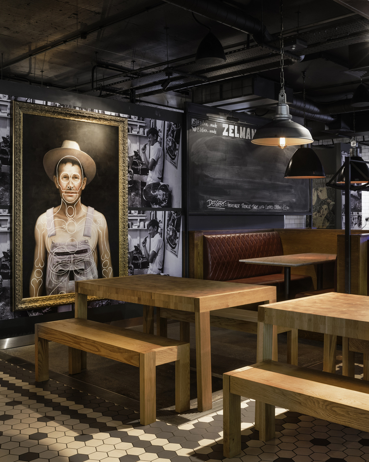 Zelman Meats - Photo: Shed interior designers and architects