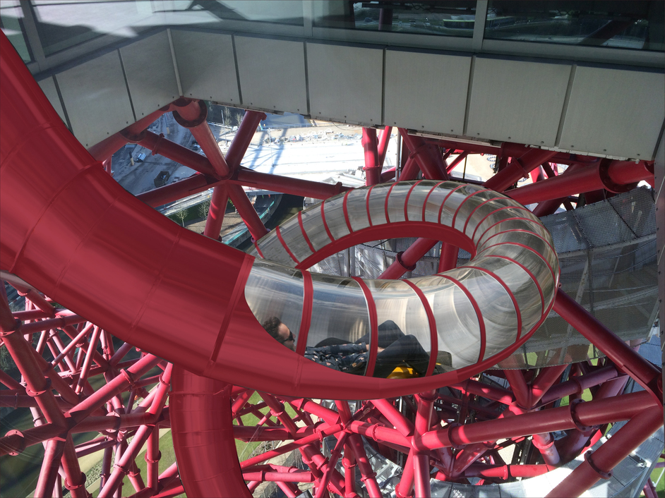 ArcelorMittal Orbit - Slide at ArcelorMittal Orbit