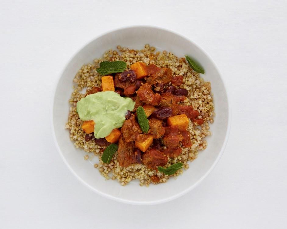 SHOT: Simple, Healthy, Organic and Tasty - Chilli bowl, photo Patricia Niven