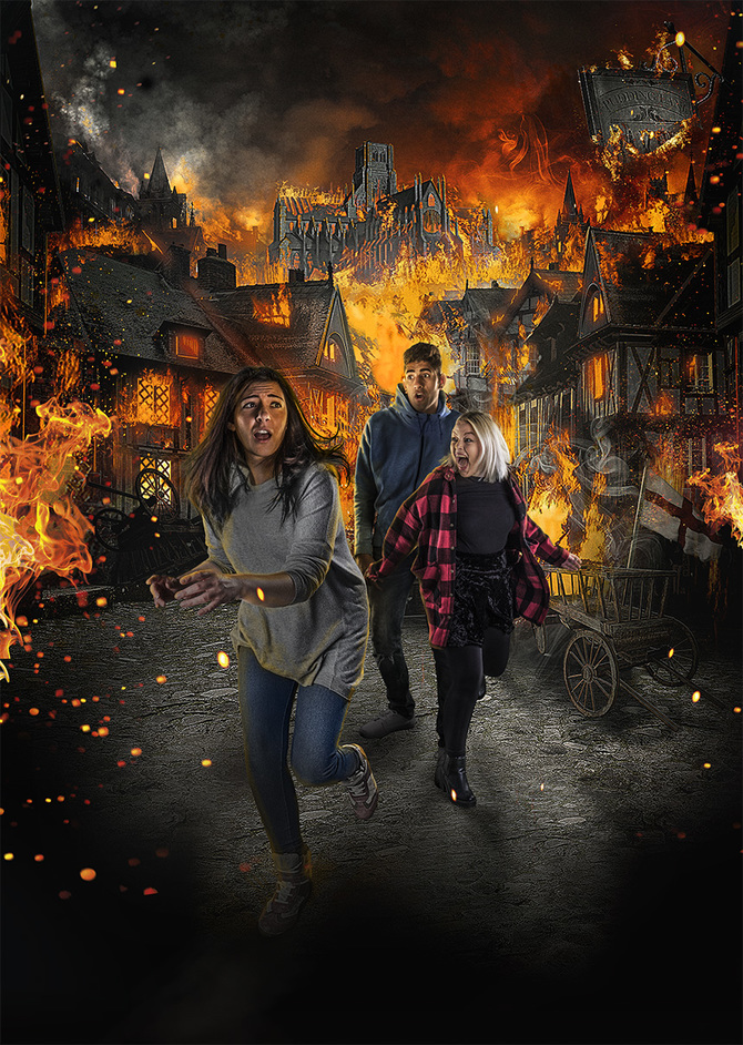 London Dungeon - Great Fire of London
