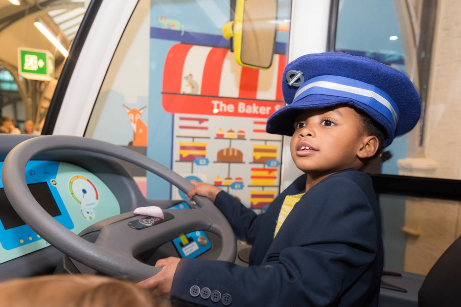 London Transport Museum - All Aboard play zone, opened March 2015