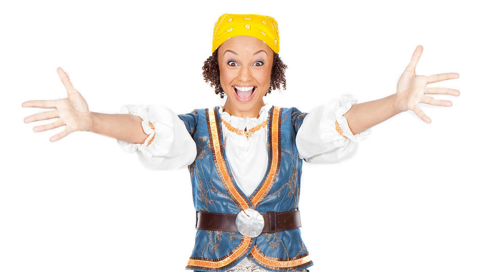 CBeebies Prom - Gemma Hunt (from Swashbuckle)