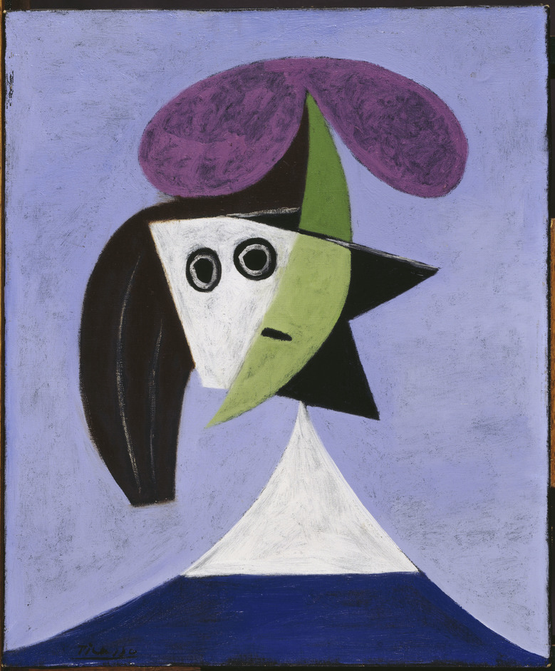 Picasso Portraits - Woman in a Hat (Olga) by Pablo Picasso, 1935 (c)Succession Picasso/DACS London