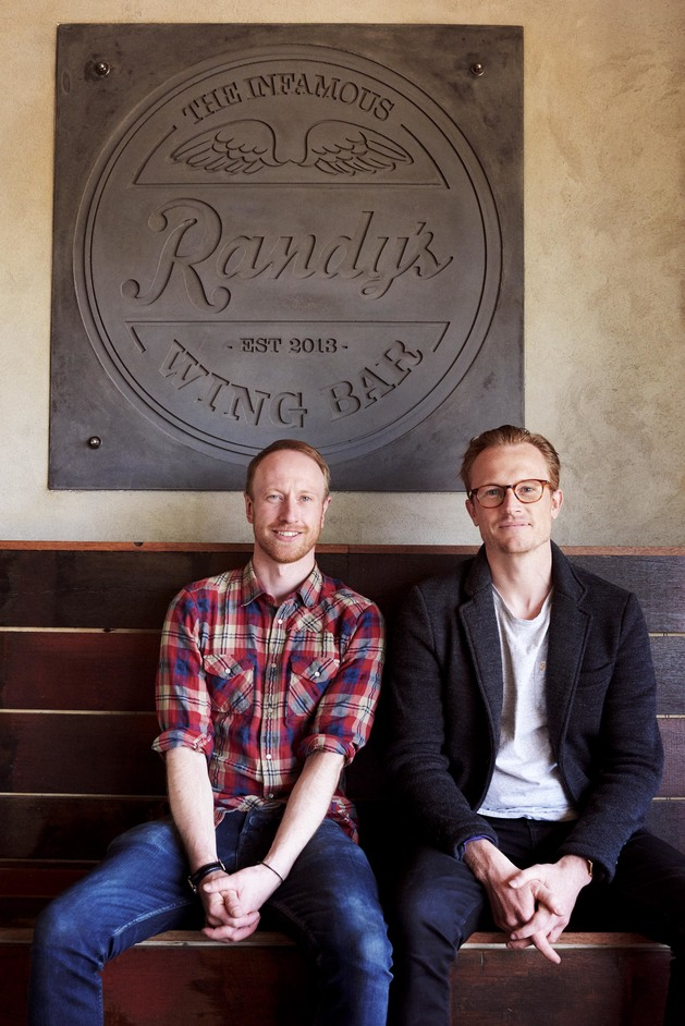 Randy's Wing Bar - Richard Thacker and Andy Watts