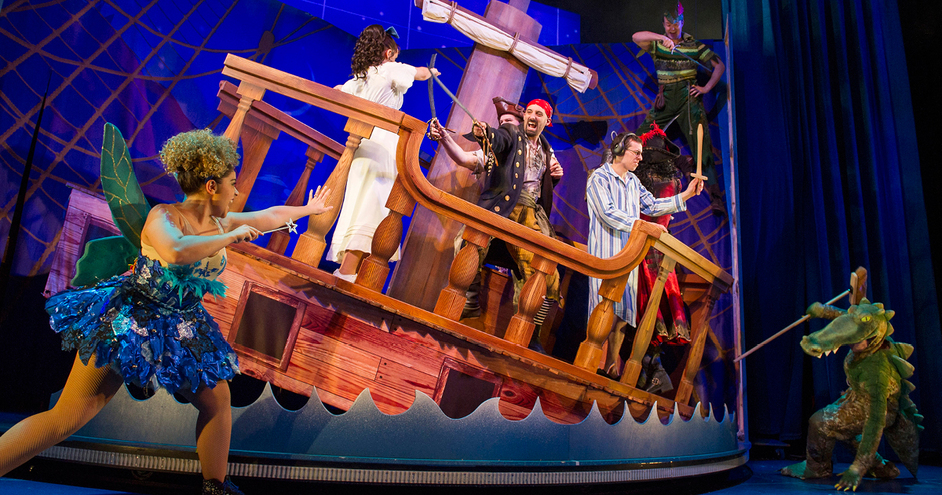 Peter Pan Goes Wrong - Photo Credit: Alistair Murr