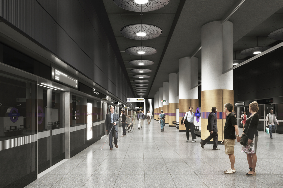 Woolwich Station - Woolwich station - proposed platform, 2018