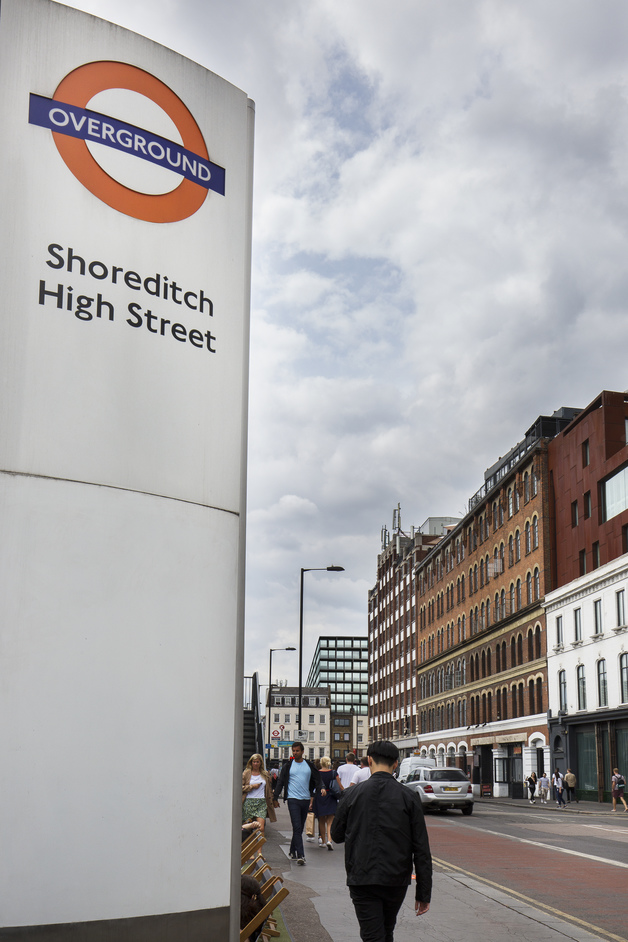 Shoreditch High Street Overground Station