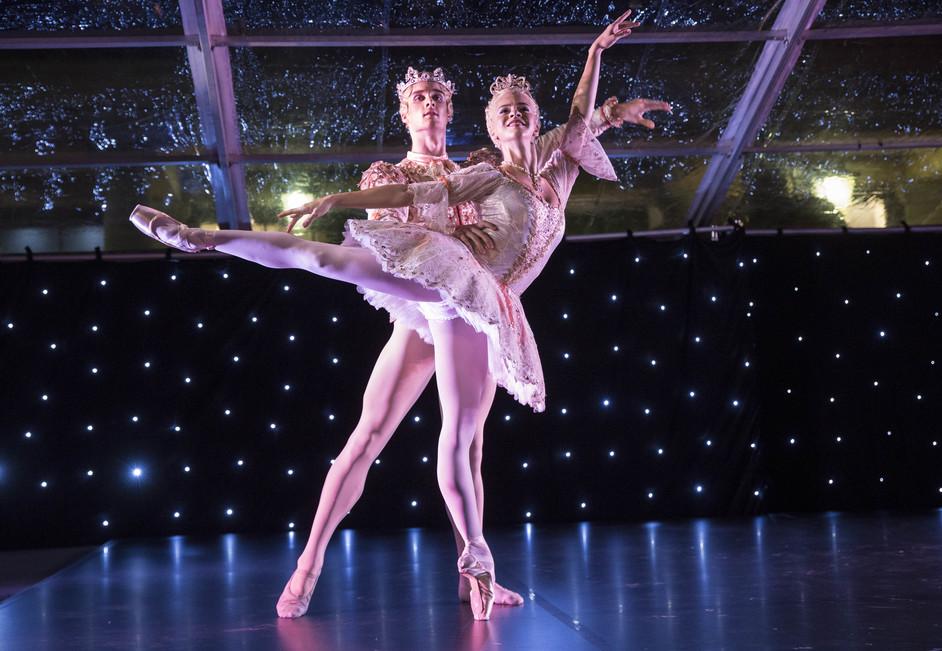 Covent Garden Christmas Lights 2016 - The Royal Ballet officially switch on Covent Garden Christmas Lights, 2016