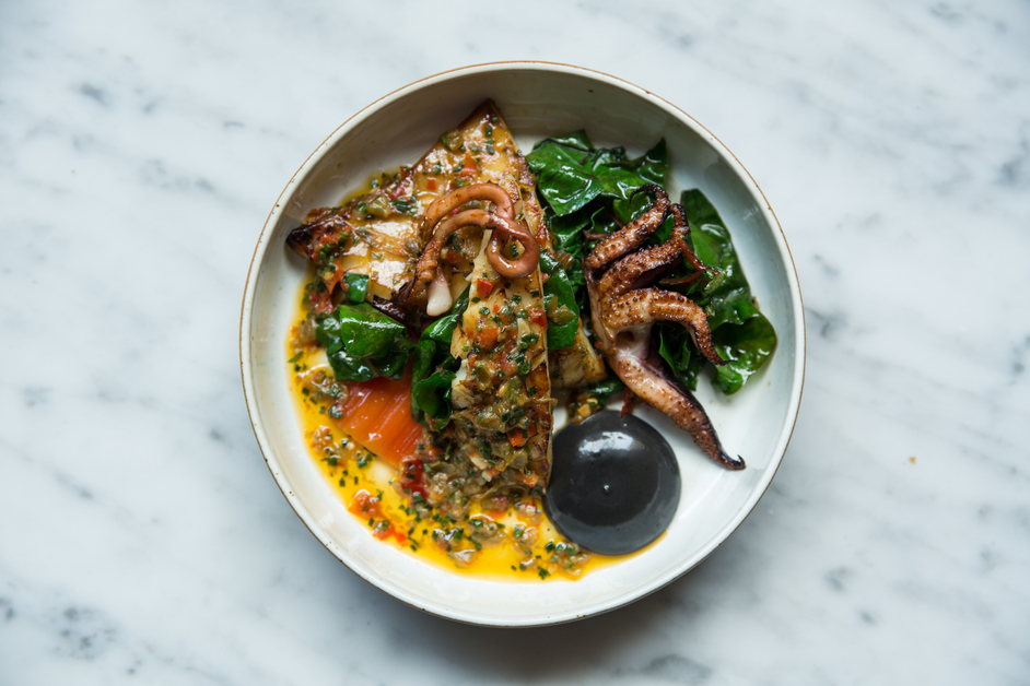 Bonnie Gull Seafood Shack Soho
