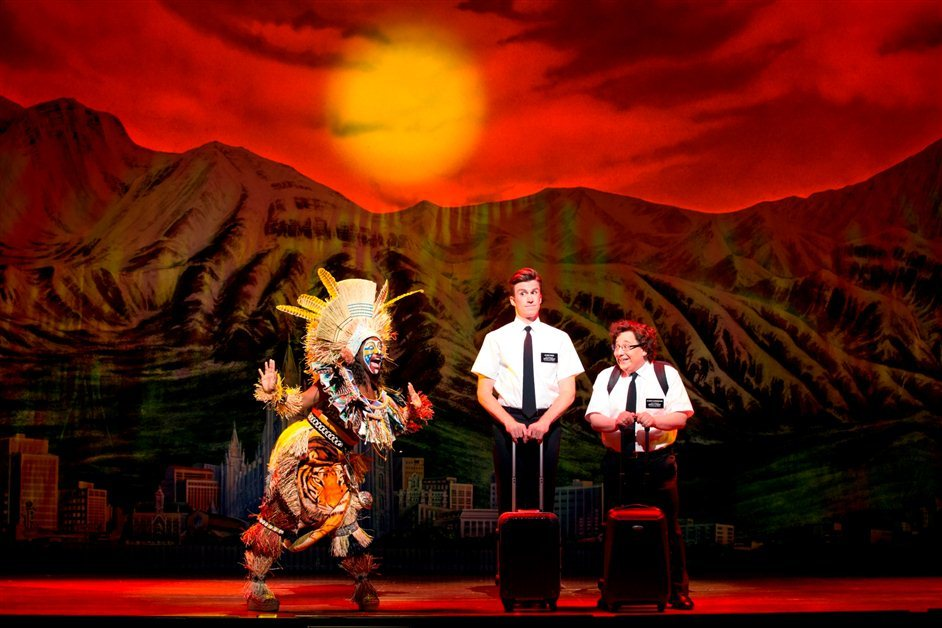 The Book Of Mormon - The Book of Mormon - Jared Gertner as Elder Cunningham. Photo by Joan Marcus