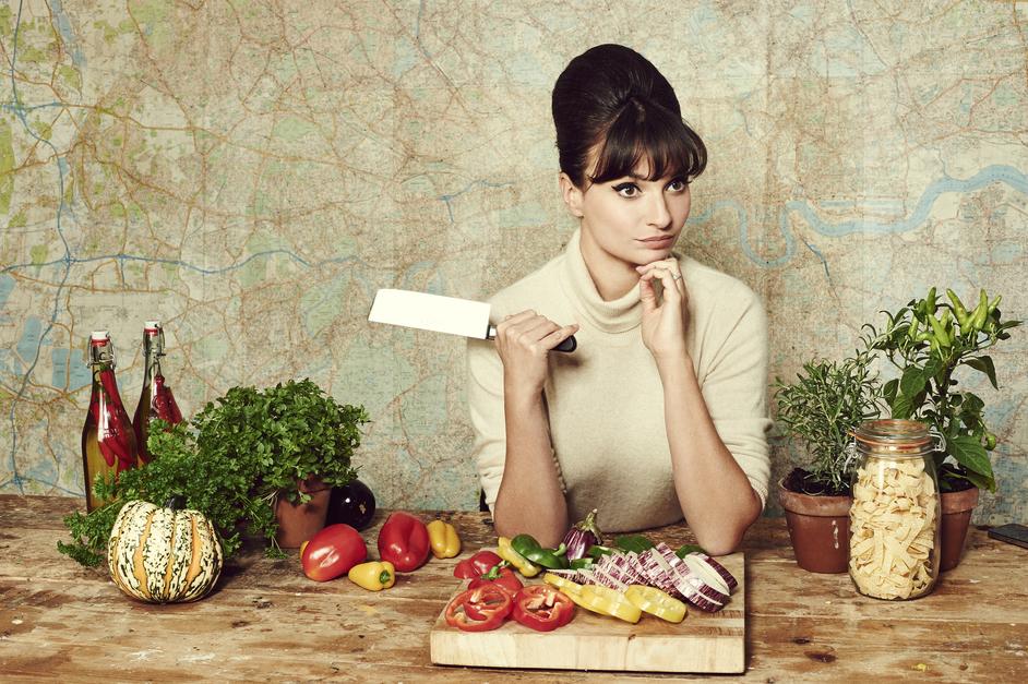 BBC Good Food Show - Gizzi Erskine. Photo: Jon Gorrigan
