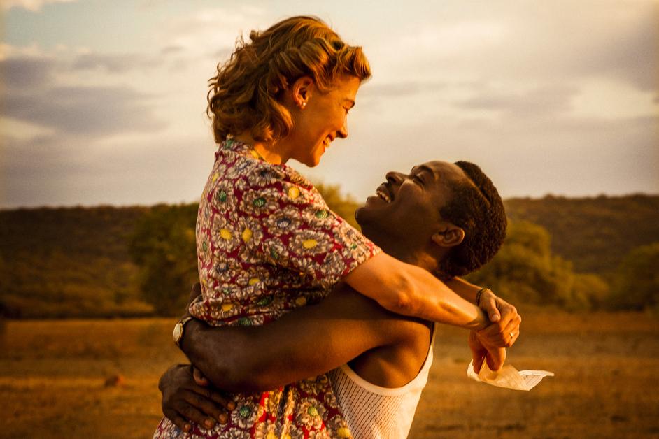 BFI London Film Festival - Rosamund Pike (Ruth) and David Oyelowo (Seretse) in A UNITED KINGDOM