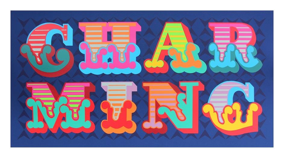 Affordable Art Fair Battersea - Jealous - Ben Eine - Charming Eine
