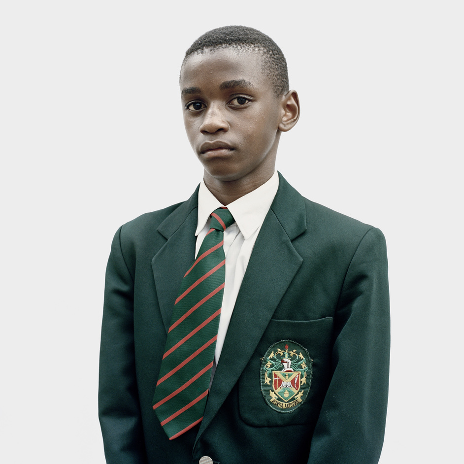 Taylor Wessing Photographic Portrait Prize - Katlehong Matsenen, 2016, Similar Uniforms:We Refuse to Compare by Claudio Rasano