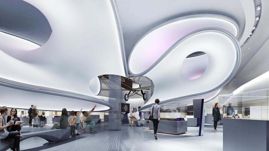 Mathematics: The Winton Gallery - (c) Zaha Hadid Architects