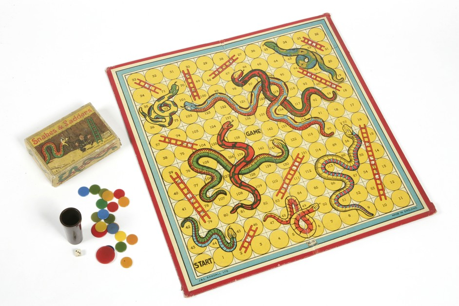 Game Plan: Board Games Rediscovered - Snakes and ladders