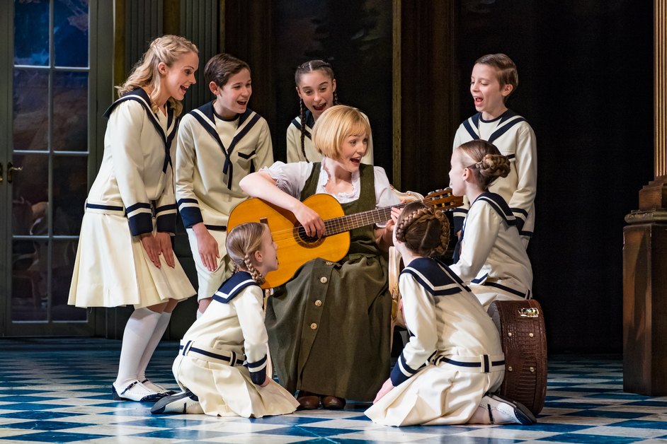 The Sound of Music - The Sound of Music UK Tour - Lucy O'Byrne as Maria - photo Mark Yeoman