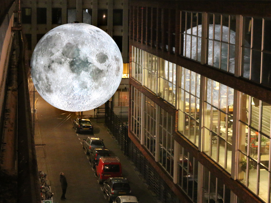 Greenwich and Docklands International Festival - Museum of Moon. Photo credit Luke Jerram