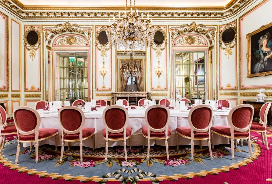 The Marie Antoinette Suite at The Ritz