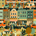 Prize for Illustration 2017: Sounds of the City