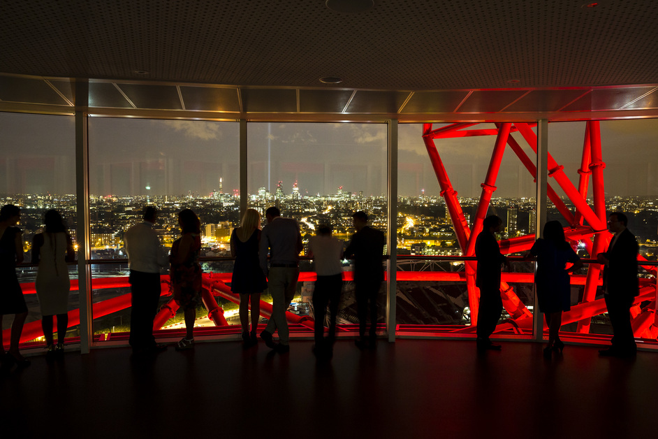 Bonfire Night at the ArcelorMittal Orbit - Photo copyright Miles Willis, 2012