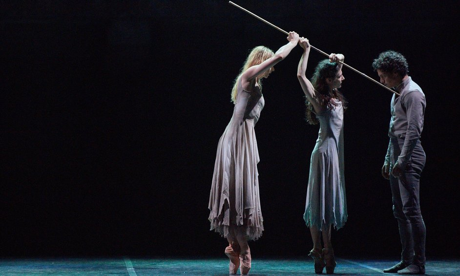 English National Ballet: Akram Khan's Giselle - Alina Cojocaru and Isaac Hernandez Akram Khan's Giselle, photo © Laurent Liotardo