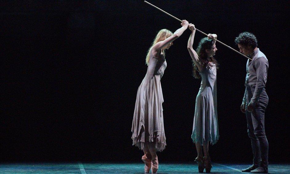 English National Ballet: Akram Khan's Giselle - Alina Cojocaru and Isaac Hernandez Akram Khan's Giselle, photo © Laurent Liotardo