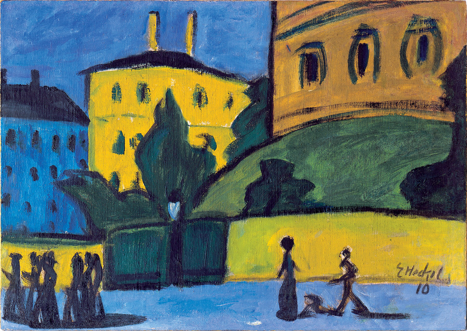 Opera: Passion, Power and Politics - Dresden Suburb Erich Heckel (1883-1970) Oil on canvas, 1910 Chemnitz Gemälde Galerie (c) Erich Heckel, Dresden Suburb, 1910