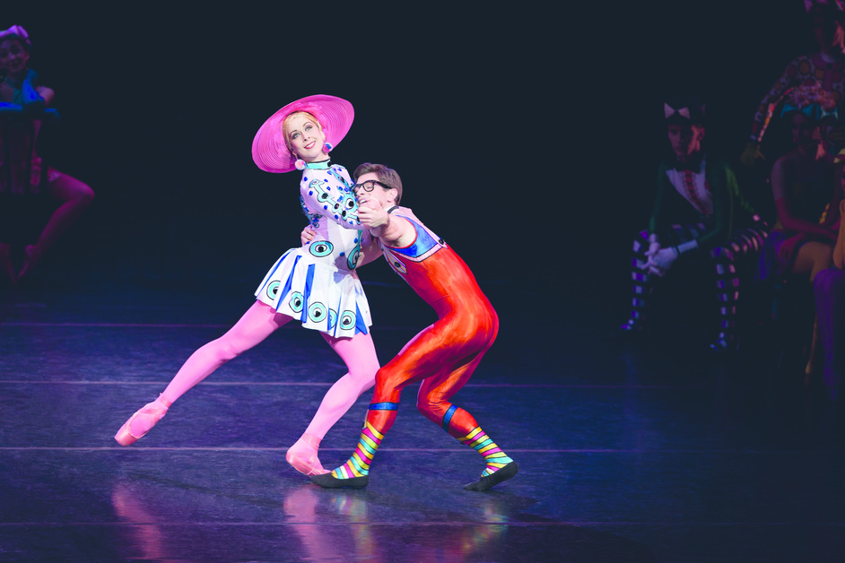Concerto / Le Baiser de la fee / Elite Syncopations - Elite Syncopations. Laura McCulloch and Paul Kay. ROH, 2010. Photo: Johan Persson.