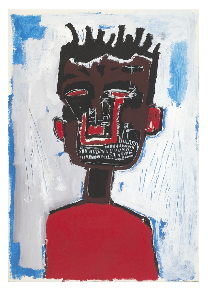 Basquiat: Boom for Real - Jean-Michel Basquiat Self Portrait, 1984 Private collection. (c) The Estate of Jean-Michel Basquiat. Licensed by Artestar, New York
