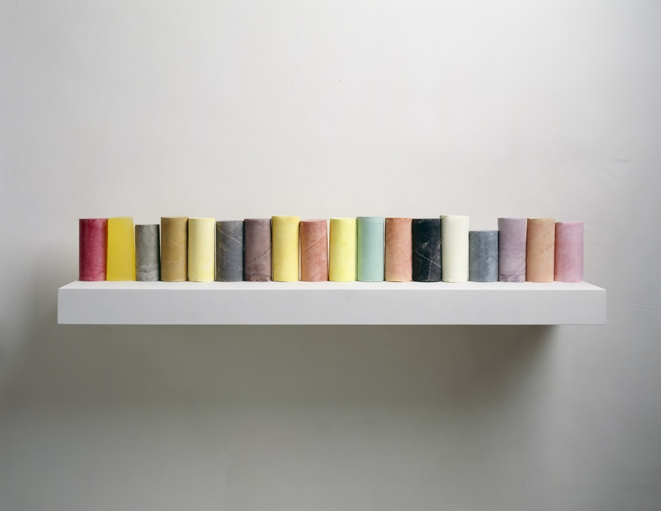 Rachel Whiteread - Line Up 2007-8 Private Collection, New York Photograph courtesy of the artist and Mike Bruce (c) Rachel Whiteread