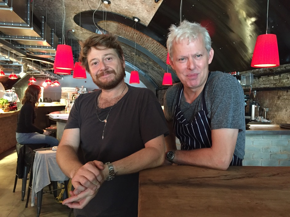 mother - David Biffani and Nick Pound owners of mother pizza