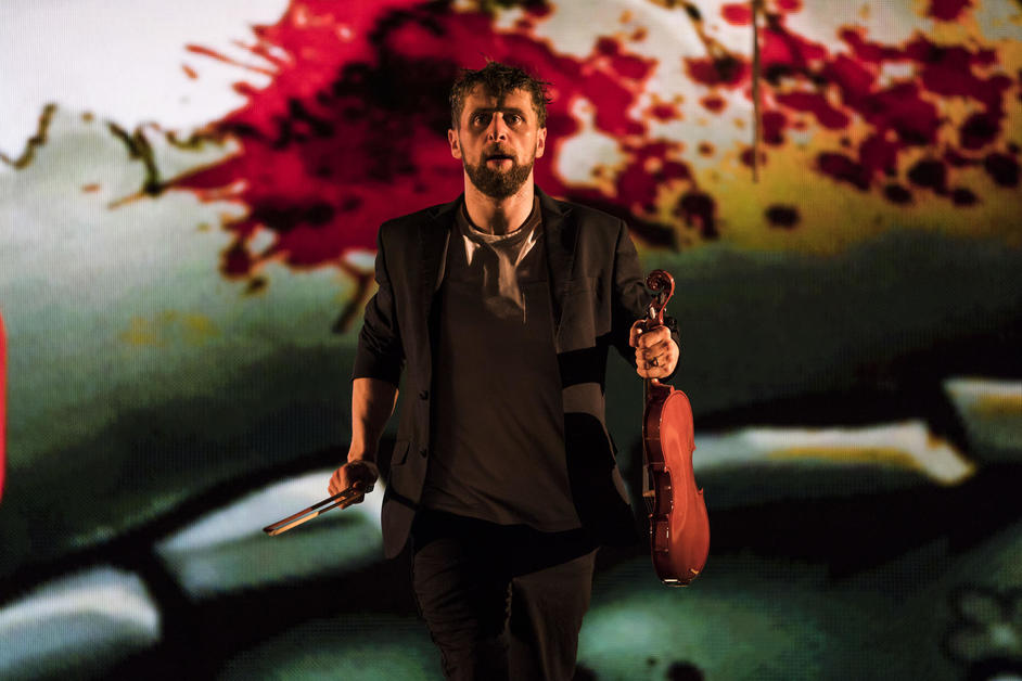 The Second Violinist - Landmark Productions and Wide Open Opera, The Second Violinist, Aaron Monaghan, image: Patrick Redmond