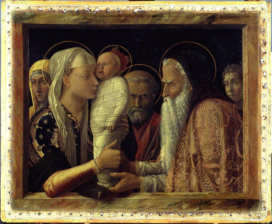 Mantegna and Bellini - Andrea Mantegna, The Presentation in the Temple, 1465-6 © Gemäldegalerie der Staatlichen Museen zu Berlin - Preußischer Kulturbesitz / photo: Christoph Schmidt