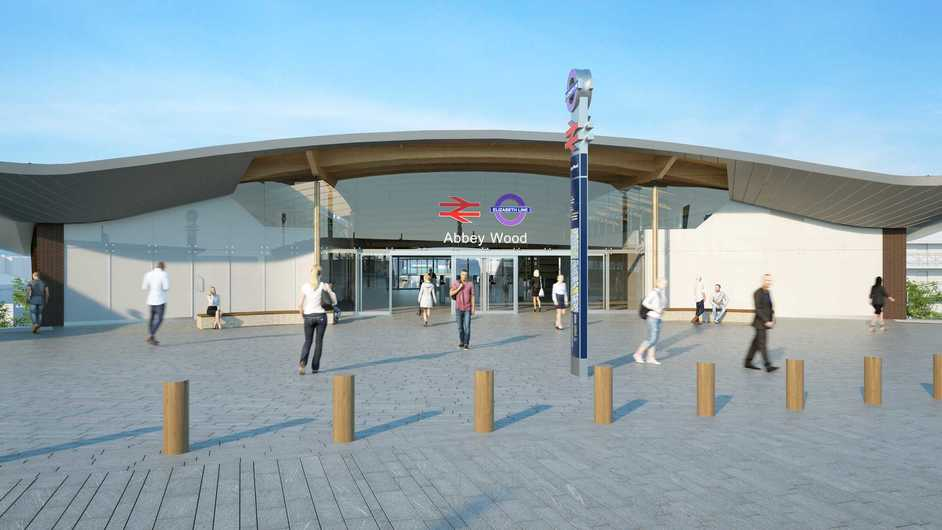 Abbey Wood Station - Image: Crossrail
