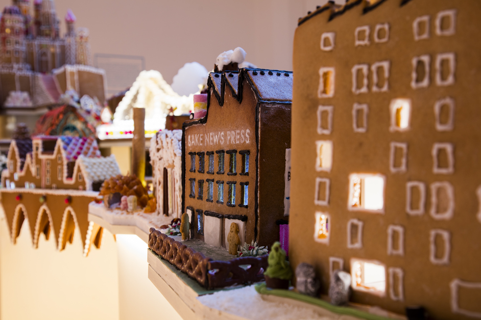 The Gingerbread City - Luke Hayes Studio