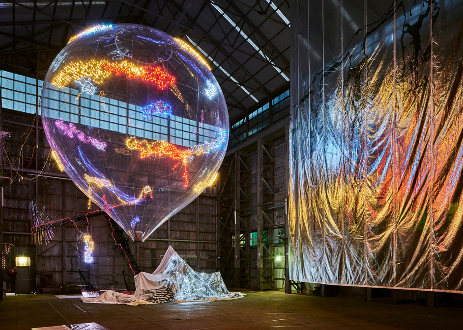Lee Bul: Wayward Wander - Lee Bul: Wayward Wander. Lee Bul Willing to be Vulnerable, 2015-16 Installation view of the 20th Biennale of Sydney, 2016. Photo: Algirdas Bakas. Courtesy of Studio Lee Bul