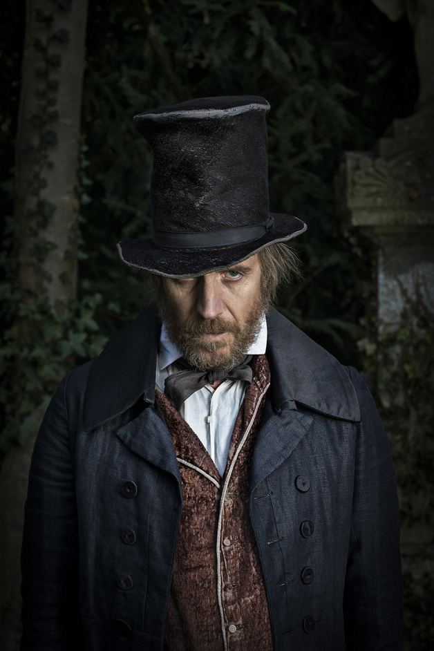 A Christmas Carol - Rhys Ifans stars in A Christmas Carol, photo by Helen Maybanks