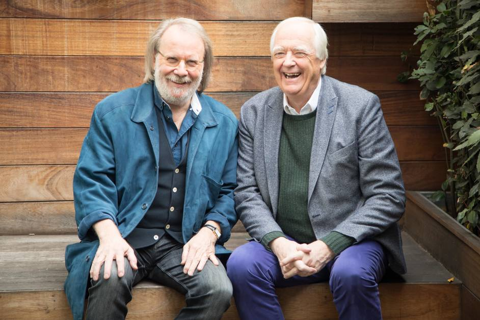 Chess - Benny Andersson and Tim Rice, photo: Piers Foley