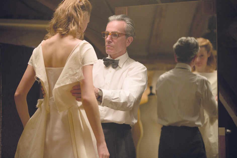 Phantom Thread - Daniel Day-Lewis and Vicky Krieps in Phantom Thread © Laurie Sparham-Focus Features